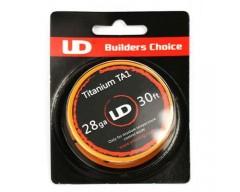 Titanium TA1 28ga (0.3mm) - 10 metros Youde
