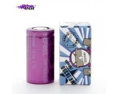 Bateria Efest Morada IMR 18650 35A V1 2500mAh (Sin Tetón)