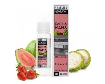 Strawberry, Guava, Jackfruit 0mg - PachaMama by Charlie's Chalk Dust (50ml) TPD