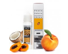 Peach, Papaya, Coconut Cream 0mg - PachaMama by Charlie's Chalk Dust (50ml) TPD
