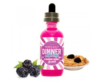 Blackberry Crumble 0mg - Dinner Lady (50ml) TPD