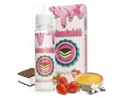 Strawberry & Cream 0mg - Ice Dream Sandwich (50ml) TPD