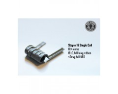 Staple 16 SINGLE COIL 0.14 (Pack de 2 coils) - Bacterio Coils