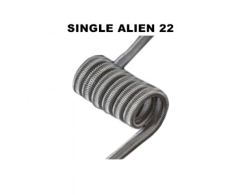 Single Alien 22 0.37Ω - Charro Coils Single Edition