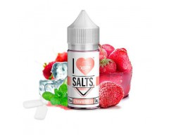 Strawberry Ice 10ml (20mg de Sales de nicotina) - Mad Hatter I Love Salts