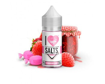 Strawberry Candy 10ml (20mg de Sales de nicotina) - Mad Hatter I Love Salts