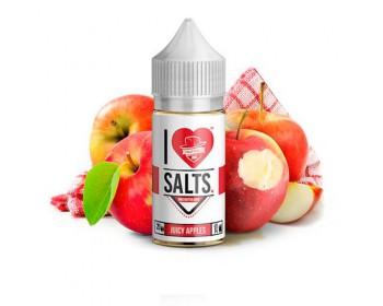 Juicy  Apples 10ml (20mg de Sales de nicotina) - Mad Hatter I Love Salts