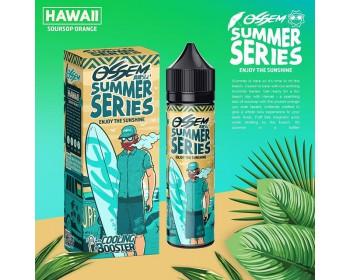 Hawaii Soursop Orange (50ml) + Cooling Booster (5ml) - Ossem Juice