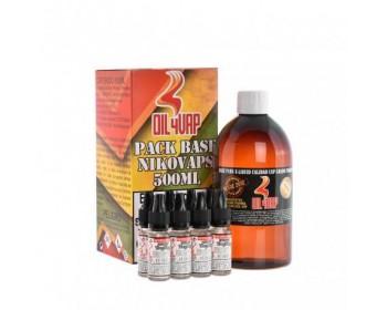 Pack Base y Nicokits (500ml) - Oil4vap