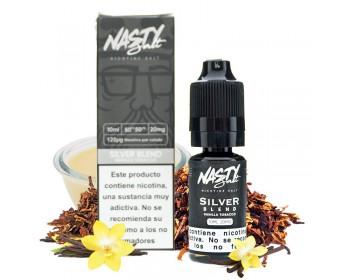 Silver Blend 10ml (10mg y 20mg sales de nicotina) - Nasty Juice Salt
