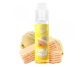Vanilla Biscuit (50ml) - Essential Vape
