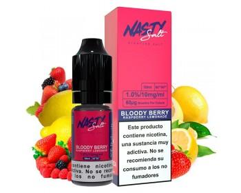 Bloody Berry 10ml (10mg y 20mg sales de nicotina) - Nasty Juice Salt